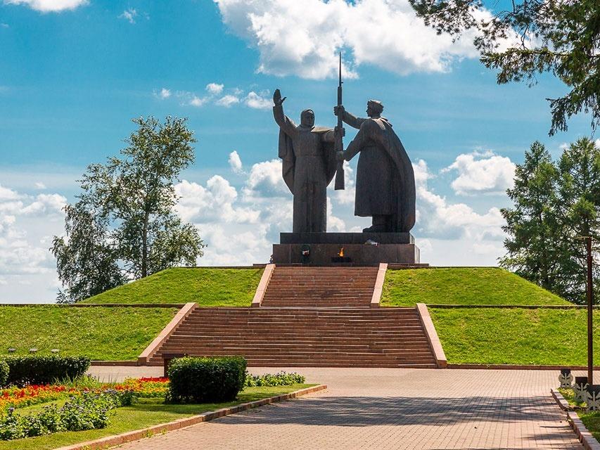 Томск город трудовой славы